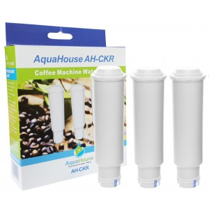 3x AquaHouse AH-CKR Compatible with Krups Claris F088 Coffee machine