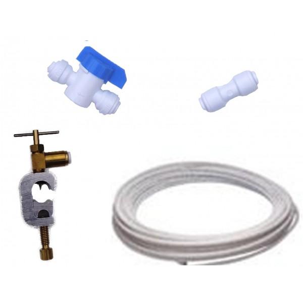 American fridge water filter plumbing fitting connection kit