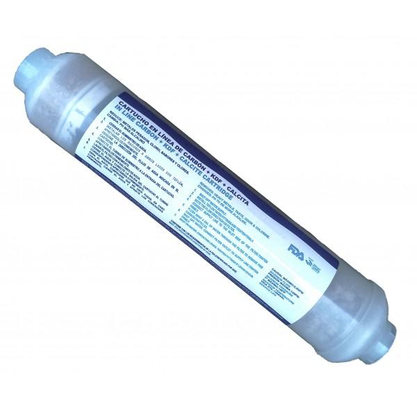 12 month in line undersink kdf water filter cartridge filter for under sink. Black Bedroom Furniture Sets. Home Design Ideas