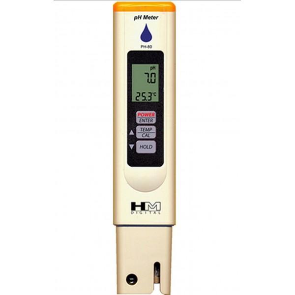 Hm Digital Ph 80 Hydrotester Water Ph Meter Hydroponics