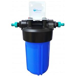 High capacity pond dechlorinator full flow for Large pond filtration