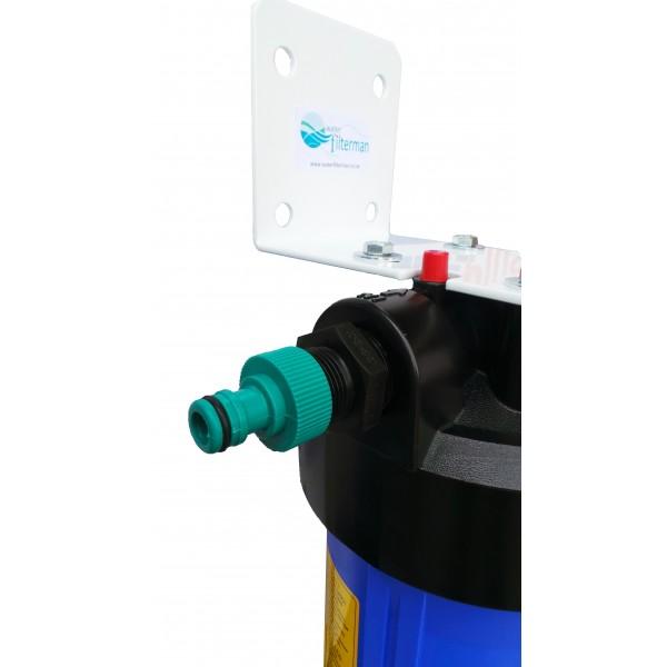 Conector filtro agua flujo completo gran capacidad for Filtro estanque koi