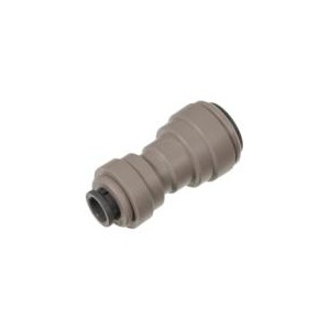 "5/16"" (8mm) x 1/4"" Inline adapter / reducer for water pipe - John Guest"