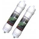 2x Samsung WSF-100 Water Filter - Original Samsung Fridge Filter