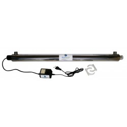 AquaHouse 55W UV Ultra Violet Water Filter - 45 Litres Per Minute (10GPM) UV Water Treatment