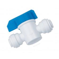 "1/4"" In-line stop tap isolator valve, shut off valve"