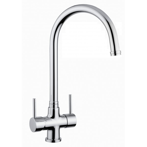 Kitchen Sink With Separate Drinking Water Tap