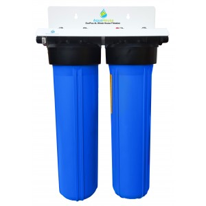 water filter. ecoplus xl whole house water filter \u0026 99.6% scale prevention, softener alternative