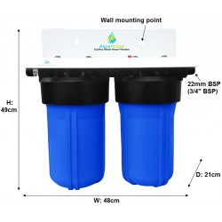 EcoPlus Whole House Water Filter and Water Softening