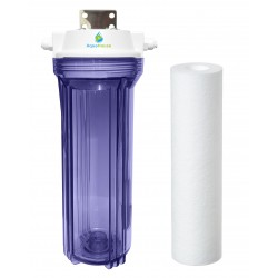 AquaHouse Small UV Lamp Sediment Pre-filter System for 12W lamps
