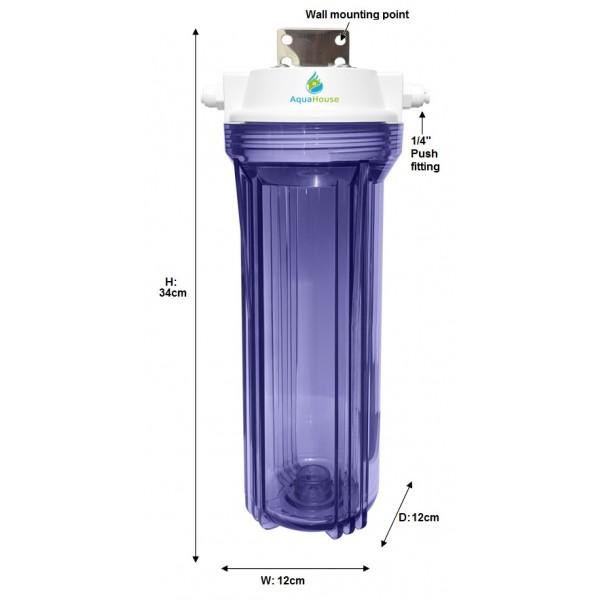Aquahouse Small Uv Sediment Pre Filter System For 12w Uv Lamps
