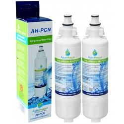 2 Pack Compatible water filters for Panasonic CNRAH-257760 CNRBH-125950 Fridge