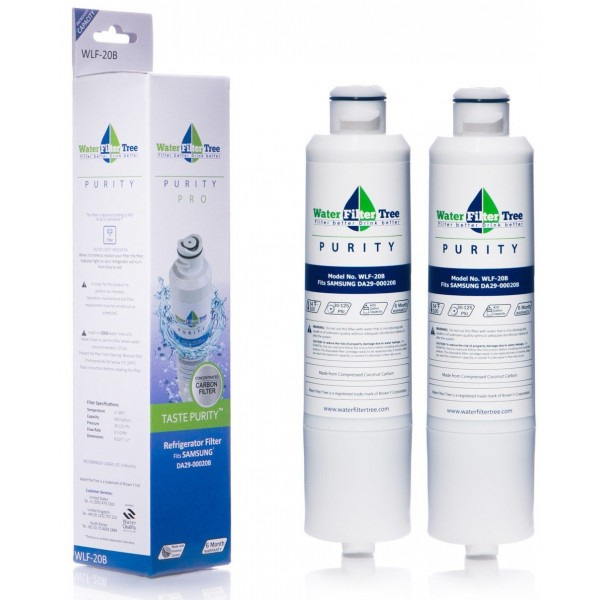 2x water filter tree wlf20b replacement filter for samsung da2900020b hafcinexp - Da2900020b