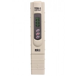 HM Digital TDS-3 Handheld TDS Meter with case