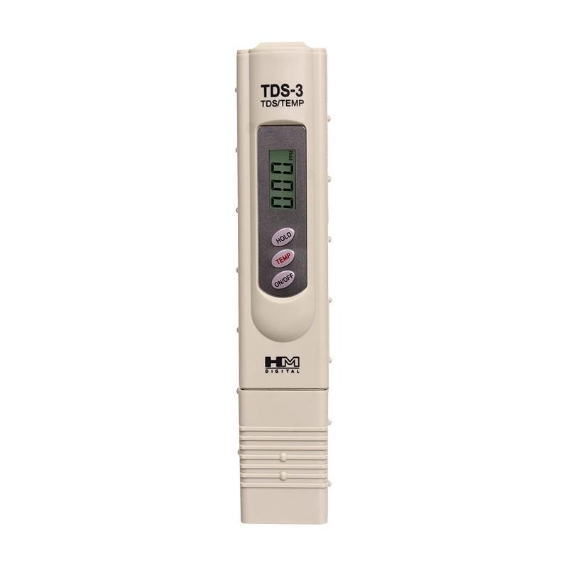 HM Digital TDS-3 Handheld TDS Meter with case