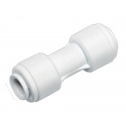 "1/4"" x 1/4"" Inline Pushfit Connector / Coupler"