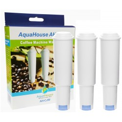 3x AquaHouse AH-CJW Compatible with Jura Claris White Coffee Machine