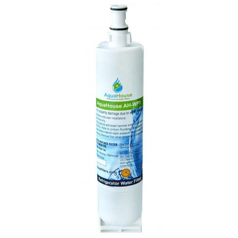 AquaHouse AH-WP1 filtro per l'acqua compatibile per Whirlpool frigo SBS002, 4396508, 481281729632, 461950271171, S20BRS, SBS003
