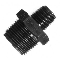 "Philmac 1"" x 3/4"" BSP Threaded Reducing Nipple - Male to Male thread adaptor"