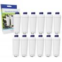 6x Compatible filter for DeLonghi DLSC002, SER3017, 5513292811, 9310926, 8004399327252