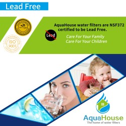 AquaHouse AH-L8P compatible water filter for LG LT800P, Kenmore Elite 46-9490