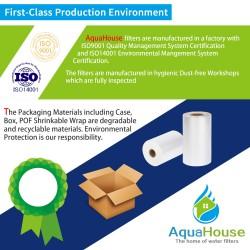4x AH-CDE replacement filter fits DeLonghi water filter cartridge DLSC002, SER3017, 5513292811
