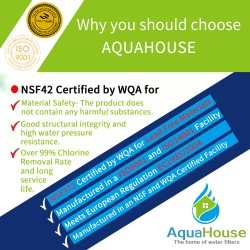 AquaHouse water filter for mains fed water coolers and plumbed-in dispensers