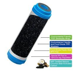 """10"""" Carbon GAC water filter cartridge - Granular Activated Carbon"""