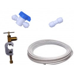 American Fridge Water Filter Plumbing Fitting Connection Kit