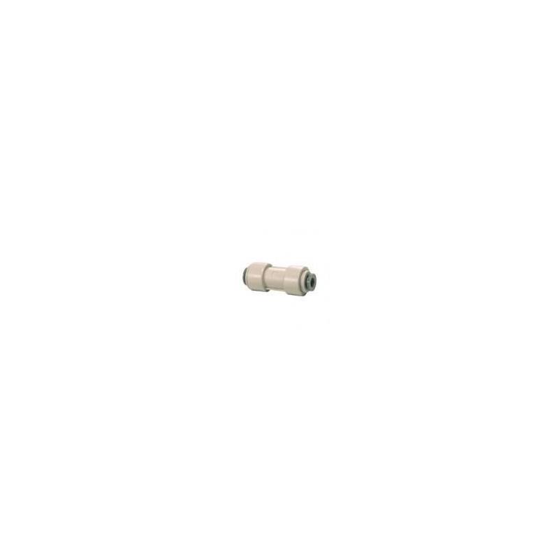 """1/4"""" x 1/4"""" Inline Pushfit Connector / Coupler"""