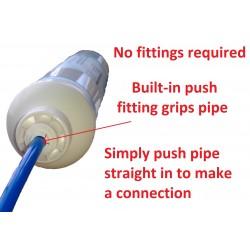 Universal Inline Fridge Filter Cartridge - External Water Filter