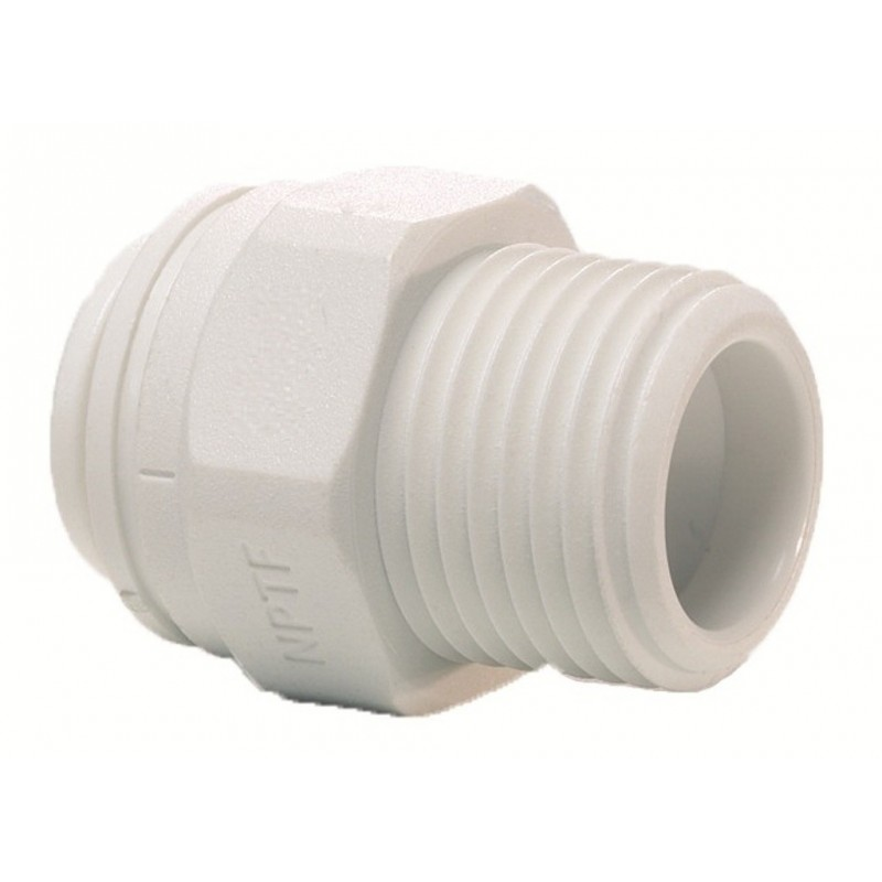 """1/4"""" NPTF x 1/4"""" Push Fit Filter Housing Connector"""
