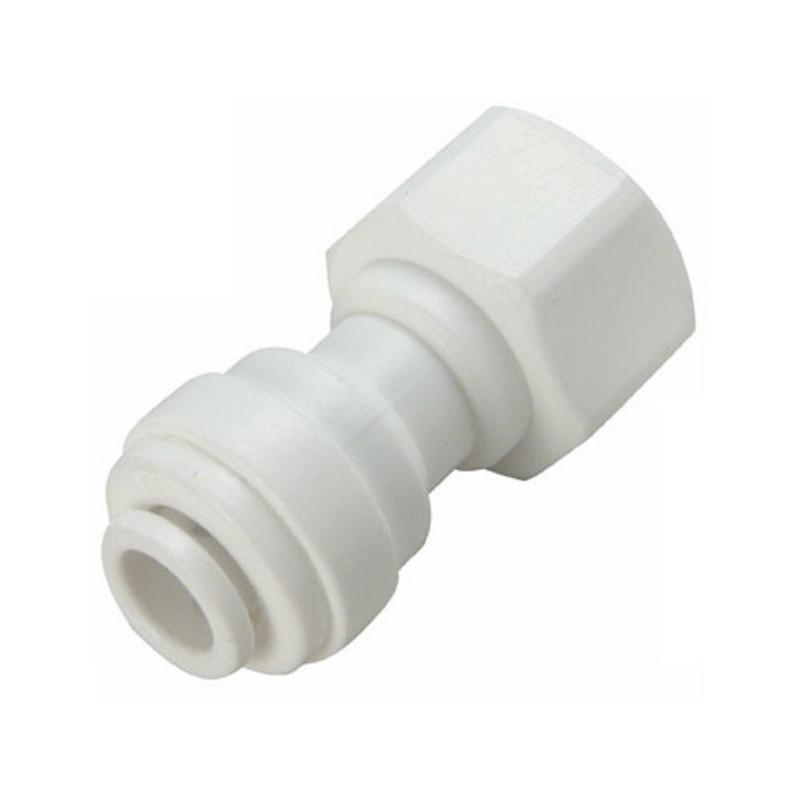 "7/16"" x 1/4"" Push fitting tap adapter"