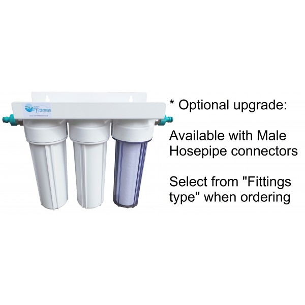 3 Stage Hma Heavy Metal Reduction Water Filter System And