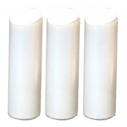 3x Replacement filters for slim in-line shower filter