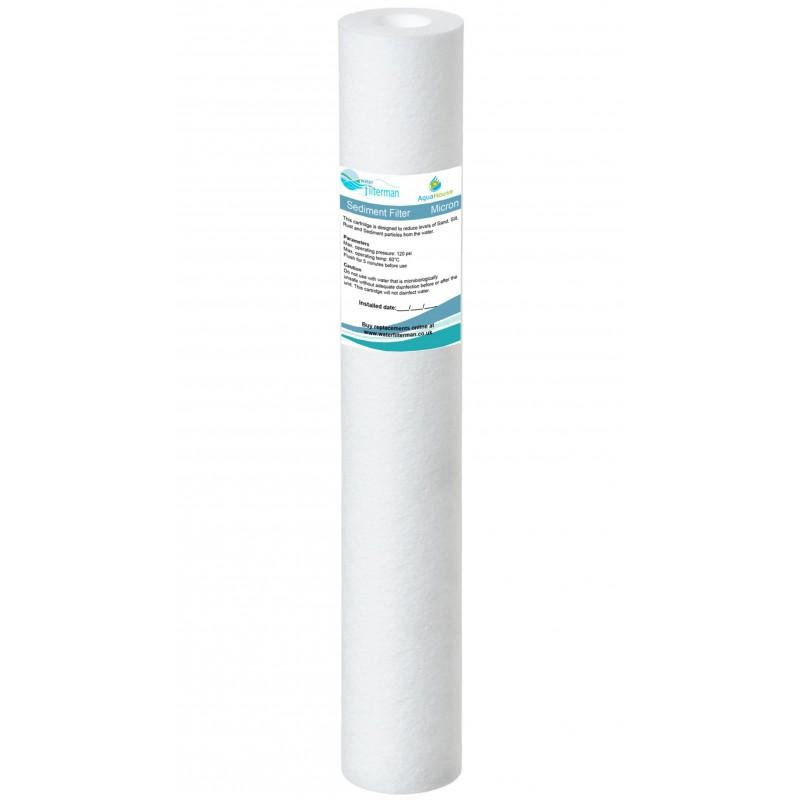 "20"" Sediment water filter cartridge particulate filter"