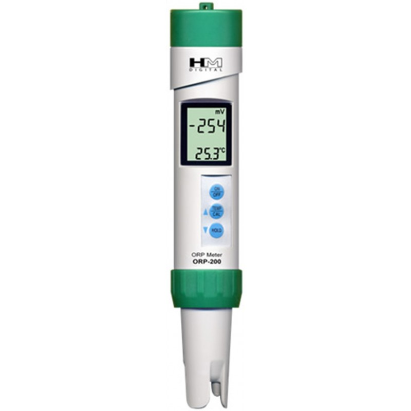 HM Digital ORP-200 Waterproof Portable ORP Meter / TEMP Water Testing Meter