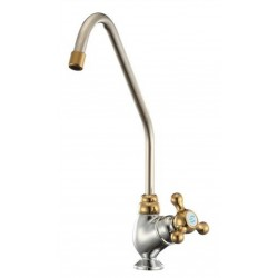 Chrome with Brass Finish Drinking Water Filter Tap