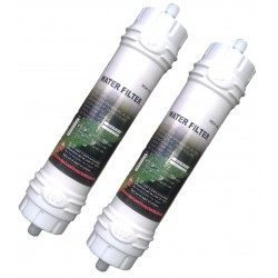 2x Samsung WSF-100 Water Filter - Original Samsung Fridge Filter